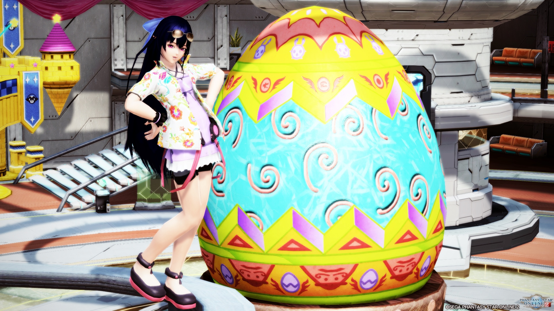pso2-easter180506_1 - PSO2:雑巾がけ・ドンキコラボ・イースター2018